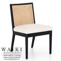 Ania Cane Dining Chair dari waiki mebel jepara central java indonesia