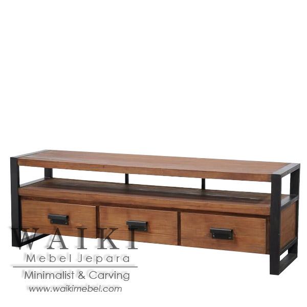metal and wood furniture. Buffet Minimalis Kayu Besi Jepara, Mebel Rustic Industrial Furniture Metal Iron Wood Jepara And