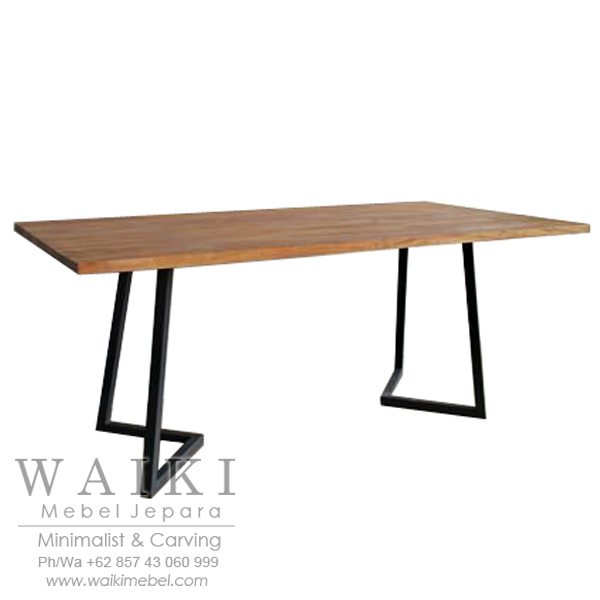 industrial metal and wood furniture. Meja Cafe Industrial Kayu Besi Furniture Metal Iron Wood Jepara,meja Besi, And