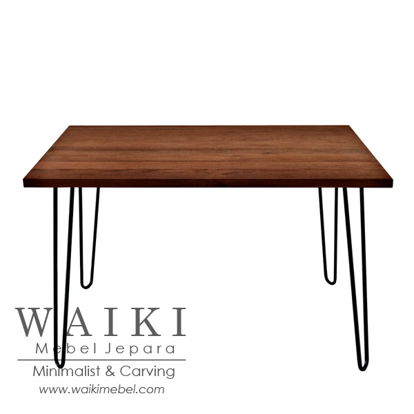industrial metal and wood furniture. Meja Cafe Kayu Besi Industrial Furniture Metal Iron Wood Jepara, Bistro Model And 4