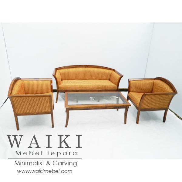 Set Kursi Tamu Megasari Jok Minimalis Hotel Furniture Jepara Factory