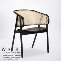 Kursi Rotan Arm Chair Cane waiki mebel jepara central java indonesia