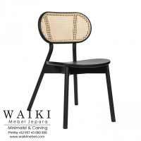 Kursi Rotan Dining Chair Cane waiki mebel jepara central java indonesia