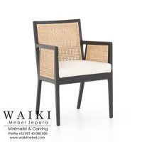 Kursi Rotan Rada Arm Chair dari waiki mebel jepara central java indonesia