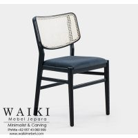 Livi Cane Dining Chair dari waiki mebel jepara central java indonesia