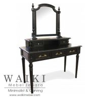 meja rias warna hitam duco,meja rias tolet jepara,jual furniture meja rias kualitas ekspor,produsen meja rias cat duco,model meja rias shabby chic, model meja rias duco shabby chic,jual meja rias shabby chic vintage,mebel meja rias jepara,jual meja rias model minimalis shabbychic,meja rias minimalis duco,jual meja rias murah,jual meja rias vintage shabby chic,meja rias gaya shabby chic,dressing table furniture jepara,mahogany antique dressing table jepara