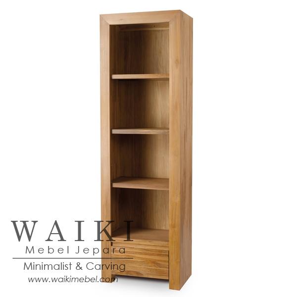 jual rak buku jati jepara,model rak buku minimalis modern,teak rack bookcase,produsen mebel rak buku malaysia,produsen mebel rak buku jepara,model lemari rak buku minimalis jepara,teak contemporary furniture jepara,model lemari jati minimalis harga murah